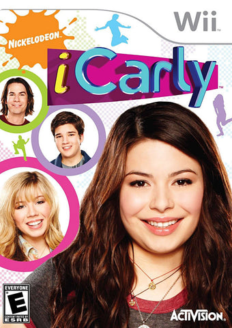 iCarly (Bilingual Cover) (NINTENDO WII) NINTENDO WII Game