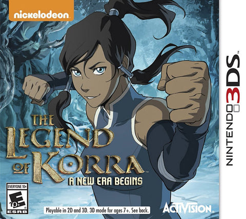 The Legend of Korra - A New Era Begins (3DS) 3DS Game