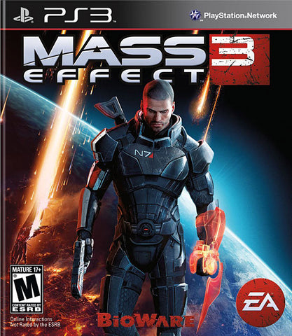 Mass Effect 3 (Bilingual Cover) (PLAYSTATION3) PLAYSTATION3 Game
