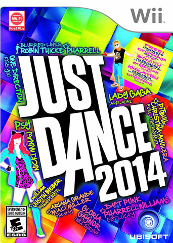 Just Dance 2014 (Trilingual Cover) (NINTENDO WII) NINTENDO WII Game