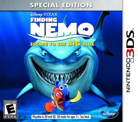 Finding Nemo - Escape To The Big Blue (Special Edition) (3DS) 3DS Game