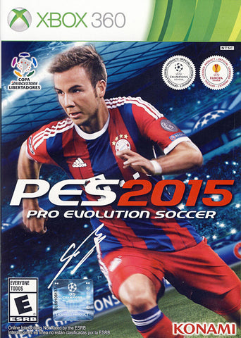 Pro Evolution Soccer 2015 (Bilingual Cover) (XBOX360) XBOX360 Game