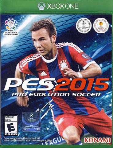 Pro Evolution Soccer 2015 (Trilingual Cover) (XBOX ONE) XBOX ONE Game