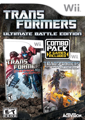 Transformers Ultimate Battle Edition (NINTENDO WII) NINTENDO WII Game