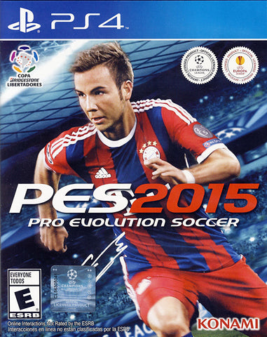 Pro Evolution Soccer 2015 ( Bilingual Cover) (PLAYSTATION4) PLAYSTATION4 Game