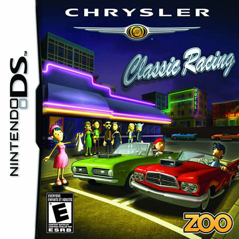 Chrysler Classic Racing (Bilingual Cover) (DS) DS Game