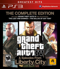 Grand Theft Auto IV - Complete (Bilingual Cover) (PLAYSTATION3)