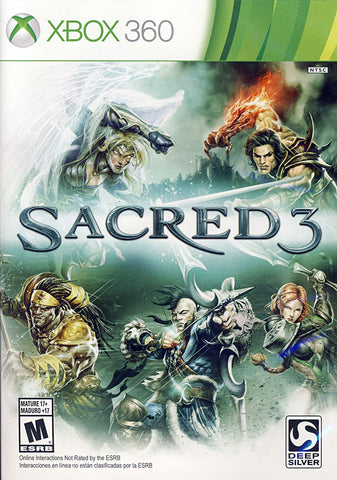Sacred 3 (Bilingual Cover) (XBOX360) XBOX360 Game