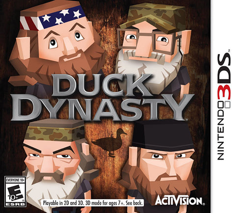 Duck Dynasty (3DS) 3DS Game
