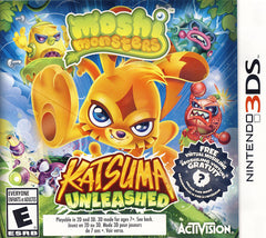 Moshi Monsters - Katsuma Unleased (Bilingual Cover) (3DS)