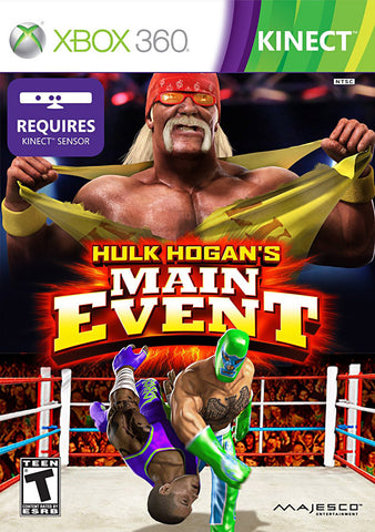 Hulk Hogan's Main Event (Kinect) (XBOX360) XBOX360 Game