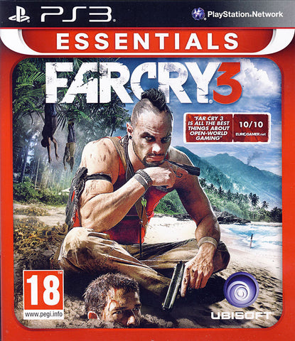 Far Cry 3 (European) (PLAYSTATION3) PLAYSTATION3 Game