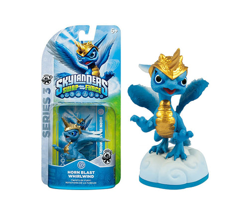 Skylanders SWAP Force - Horn Blast Whirlwind Series 3 Character (Toy) (TOYS) TOYS Game