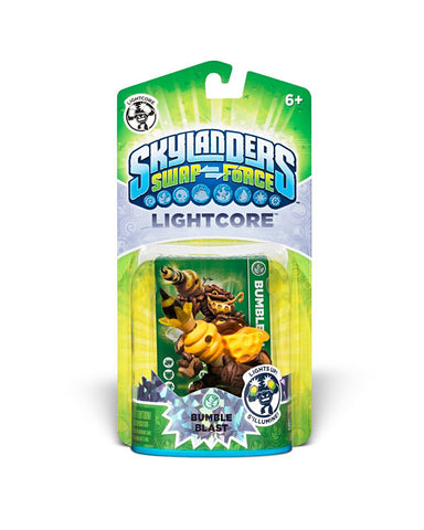 Skylanders SWAP Force - Lightcore Bumble Blast Character (TOYS) TOYS Game