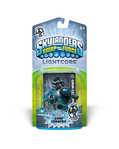 Skylanders SWAP Force - Lightcore Grim Creeper Character (TOYS) TOYS Game