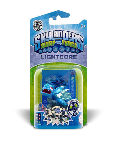 Skylanders SWAP Force - Lightcore Warnado Character (TOYS) TOYS Game