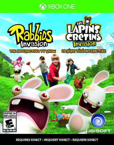Rabbids Invasion - The Interactive TV Show (Trilingual Cover) (XBOX ONE) XBOX ONE Game