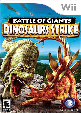 Battle of Giants Dinosaur Strike (NINTENDO WII) NINTENDO WII Game