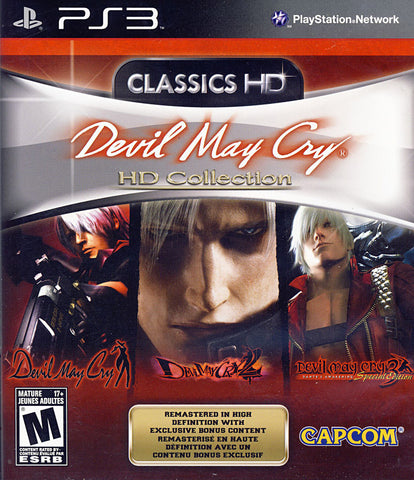 Devil May Cry HD Collection (Bilingual Cover) (PLAYSTATION3) PLAYSTATION3 Game
