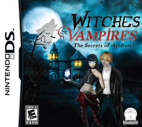 Witches and Vampires - The Secrets of Ashburry (DS) DS Game