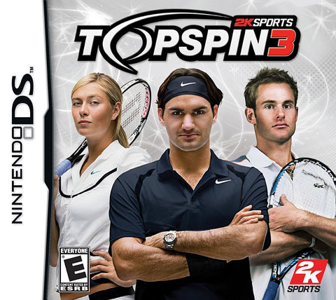 Top Spin 3 (DS) DS Game