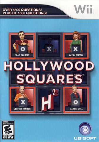 Hollywood Squares (Bilingual Cover) (NINTENDO WII) NINTENDO WII Game