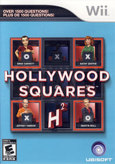 Hollywood Squares (Bilingual Cover) (NINTENDO WII)