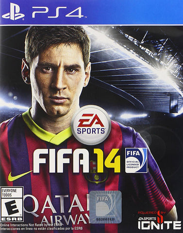 FIFA 14 (Bilingual Cover) (PLAYSTATION4) PLAYSTATION4 Game