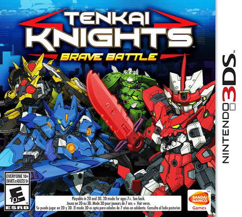 Tenkai Knights - Brave Battle (Trilingual Cover) (3DS) 3DS Game