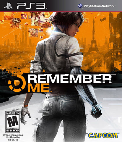 Remember Me (PLAYSTATION3) PLAYSTATION3 Game