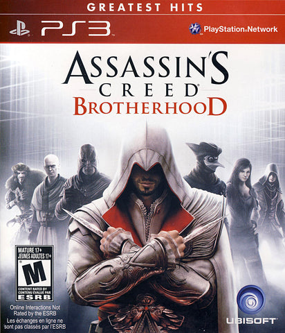 Assassin's Creed - Brotherhood (Trilingual Cover) (PLAYSTATION3) PLAYSTATION3 Game