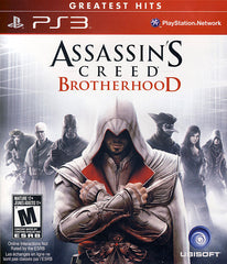 Assassin's Creed - Brotherhood (Trilingual Cover) (PLAYSTATION3)