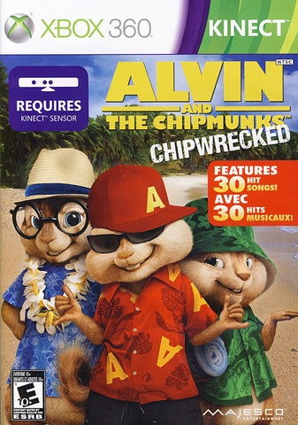 Alvin and the Chipmunks - Chipwrecked (kinect) (Bilingual Cover) (XBOX360) XBOX360 Game