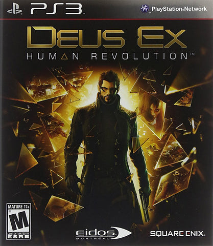Deus Ex - Human Revolution (PLAYSTATION3) PLAYSTATION3 Game
