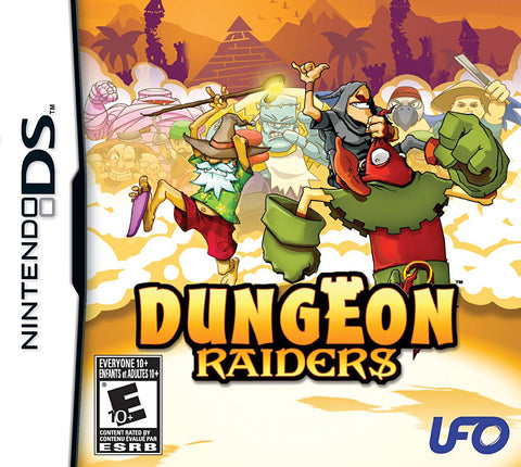 Dungeon Raiders (Bilingual Cover) (DS) DS Game