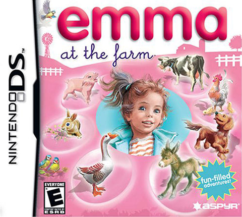 Emma at the Farm (DS) DS Game