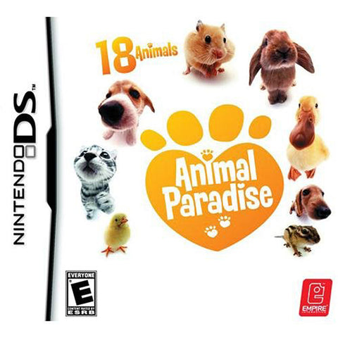 Animal Paradise (DS) DS Game
