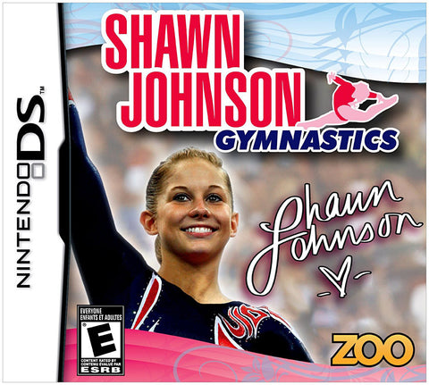 Shawn Johnson - Gymnastics (Bilingual Cover) (DS) DS Game