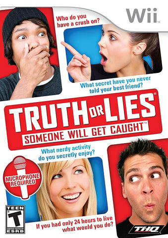 Truth or Lies (NINTENDO WII) NINTENDO WII Game