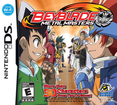 Beyblade - Metal Masters (Trilingual Cover) (DS) DS Game