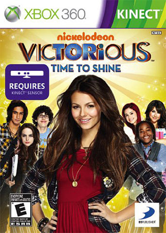 Victorious - Time to Shine (Trilingual Cover) (XBOX360) XBOX360 Game