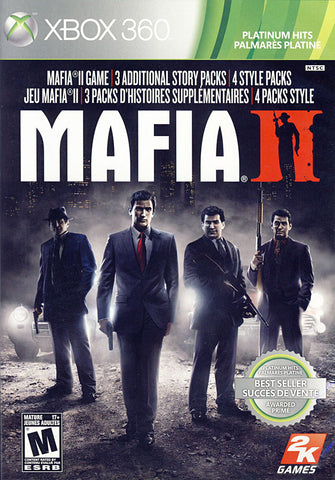 Mafia II (2) (Bilingual Cover) (XBOX360) XBOX360 Game