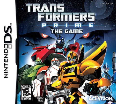 Transformers Prime - The Game (DS) DS Game