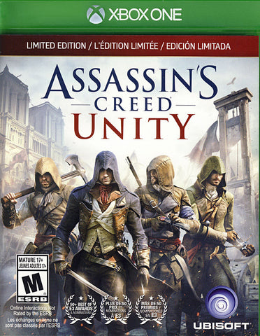 Assassin's Creed - Unity (Limited Edition) (Trilingual Cover) (XBOX ONE) XBOX ONE Game
