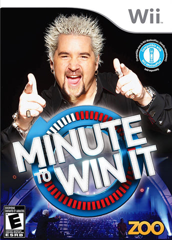 Minute To Win It (Bilingual Cover) (NINTENDO WII) NINTENDO WII Game