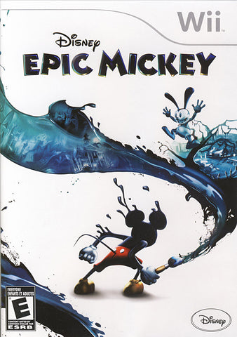 Disney Epic Mickey (Bilingual Cover) (NINTENDO WII) NINTENDO WII Game