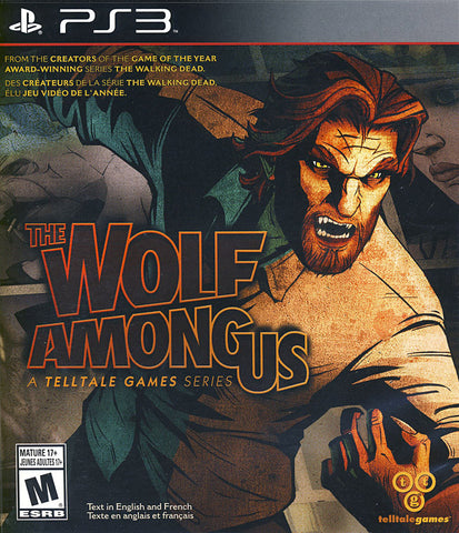 The Wolf Among Us (Bilingual Cover) (PLAYSTATION3) PLAYSTATION3 Game