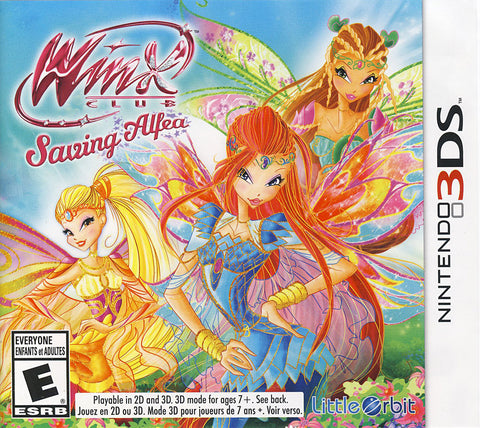 Winx Club - Saving Alfea (Trilingual Cover) (3DS) (3DS) 3DS Game