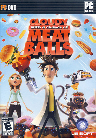 Cloudy with a Chance of Meatballs (Bilingual Cover) (PC) PC Game