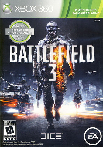 Battlefield 3 (Bilingual Cover) (XBOX360) XBOX360 Game